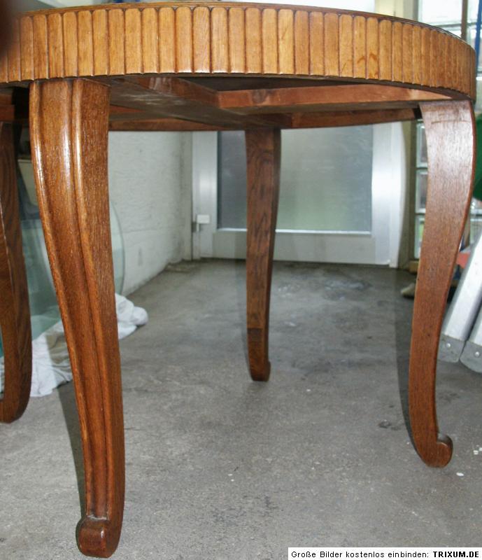esstisch alt antik rund jugendstil in 51469 bergisch. Black Bedroom Furniture Sets. Home Design Ideas