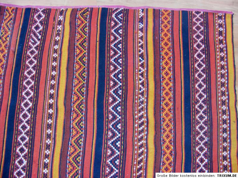 330×180 cm orient Uzbek Teppich Nomaden Jejim kelim afghan