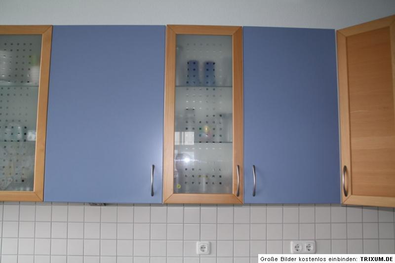 ikea k che faktum kalsebo buche blau mit elektroger ten aeg voll funktionsf ebay. Black Bedroom Furniture Sets. Home Design Ideas