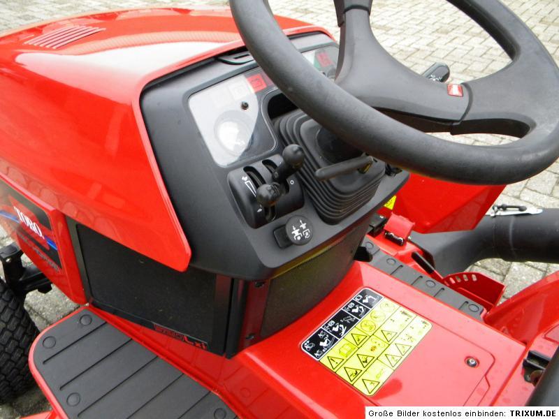 kommunaltraktor aufsitzm her toro wheelhorse 520lxi ebay. Black Bedroom Furniture Sets. Home Design Ideas