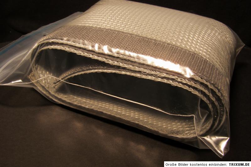 c ble chaussette avec velcro 20m gris pour bang olufsen. Black Bedroom Furniture Sets. Home Design Ideas