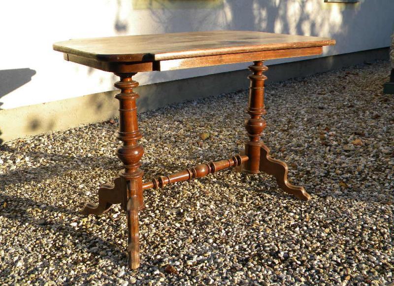 1890 shabby ant gr nderzeit tisch zum lackieren wohnzimmer garten k chentisch ebay. Black Bedroom Furniture Sets. Home Design Ideas
