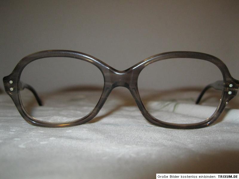VINTAGE Brillenfassung 56-18 Bicolor Pilotenbrille Gestell ladenneu Optiker 20M